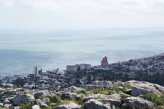 Piriapolis, Uruguay: View from the top of the Cerro del Toro