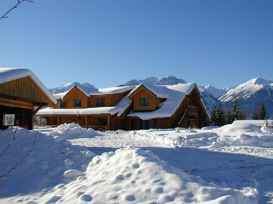 Il Nido Country Inn : The house in the Winter