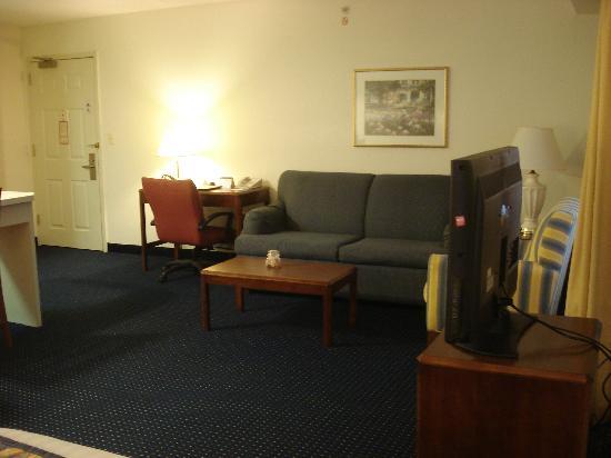 Residence Inn Fair Lakes Fairfax: Shabby
