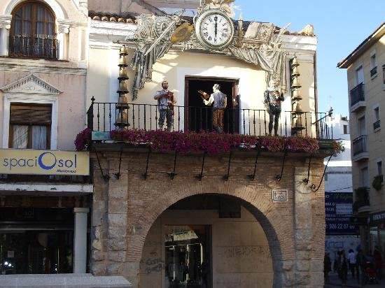 Ciudad Real, Spain: Reloj carrillon