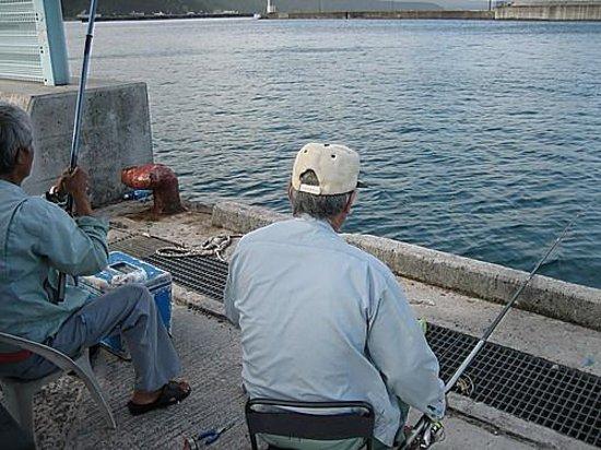 Nago Gyokyo market: 名護漁協の波止場
