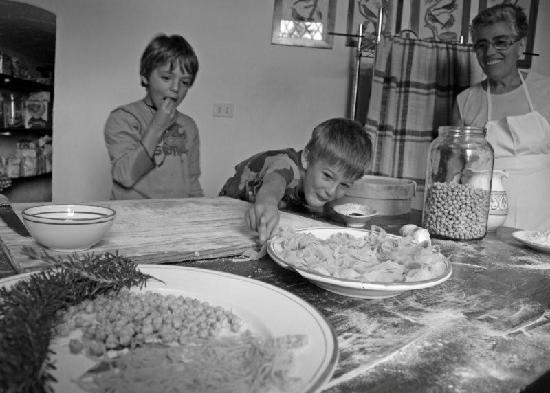 Roccalbegna, Italia: La cucina di Maria Livia