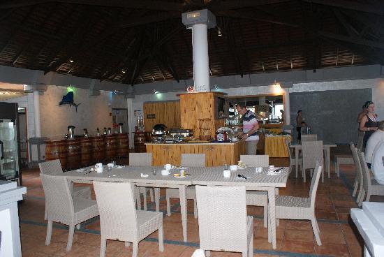 Hotel-Club Trois Ilets: Le buffet