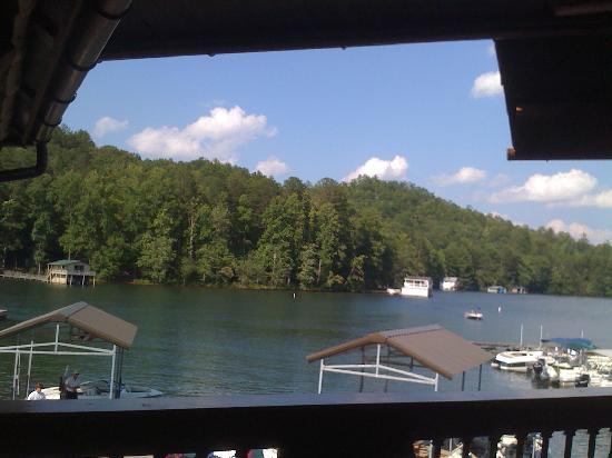 La Prade's On Lake Burton: La Prade's View of Lake Burton