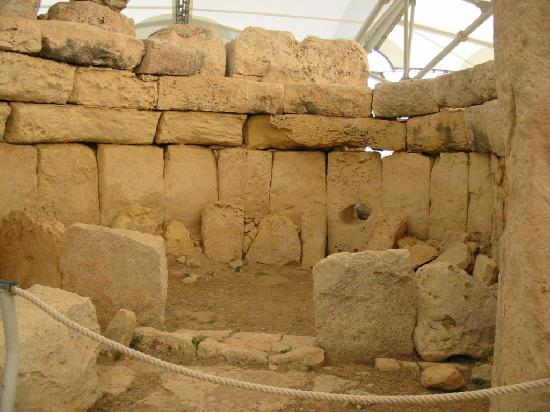 Hagar Qim Temples: abside de l'oracle (2010)
