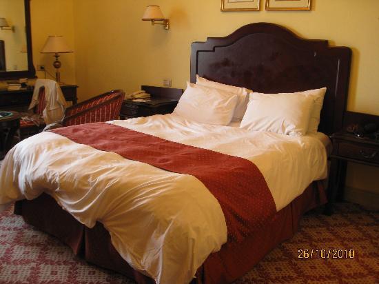 Steigenberger Cecil Hotel: Our bed