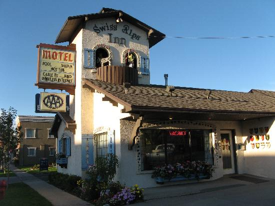 Heber City, UT: Swiss Alps Motel office exterior