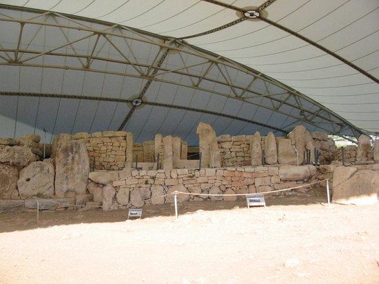Qrendi, Malta: Temple médian (2010)
