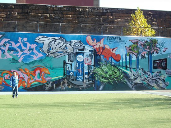 Taste Harlem Food & Cultural Tours : Graffiti Art