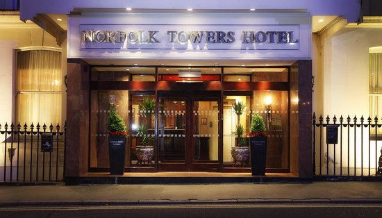 The Norfolk Towers Hotel: Hotel Exterior