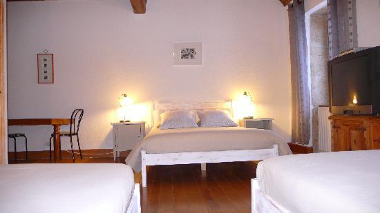 Le Domaine du Vernay : chambre doisneau