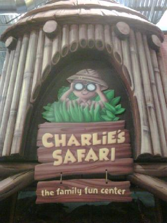 Climb, play and make new friends at Charlie's Safari