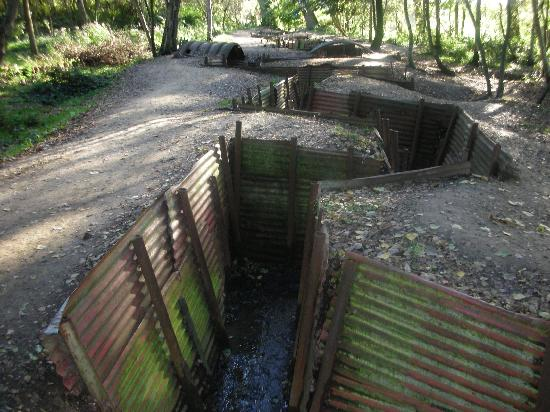 Flanders Battlefield Tours: Trenches at Hill 62
