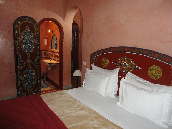 Riad Dar Alia : Chambre Tanjawiya vue 2