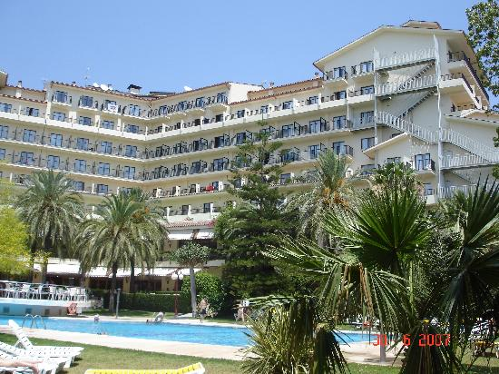 Vue d ensemble picture of hotel intur orange benicasim for Hotels orange