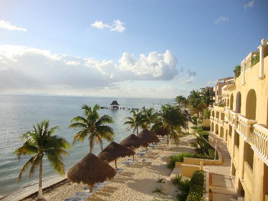 All Ritmo Cancun Resort & Waterpark: View from our room