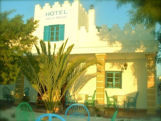 Hotel Villa Soleil : vue de face du villa soleil