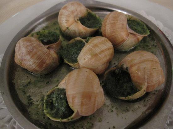 L'Escargot: 前菜