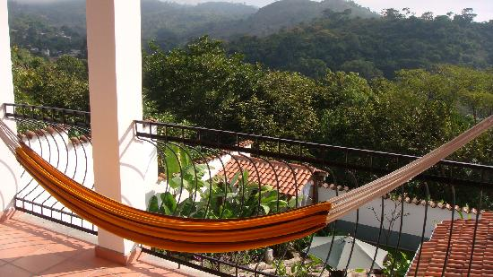 Terramaya: View from my room overlooking Copan valley.
