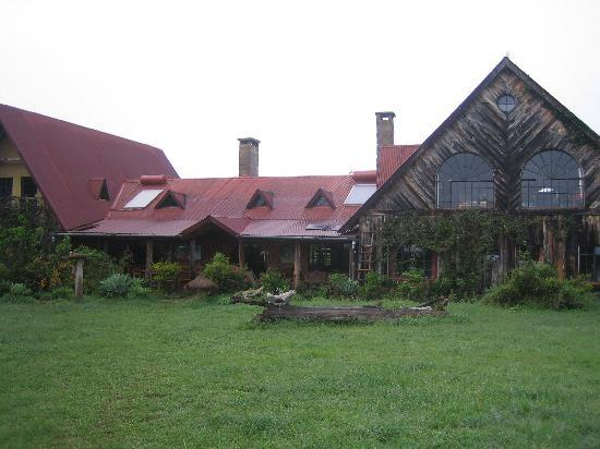 Nyeri, Kenia: Sandai Farmstay - the main house