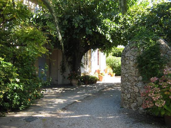 Hotel Lou Cagnard: le jardin et son puits de pierre