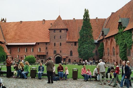 Malbork, Polen: Marienburg