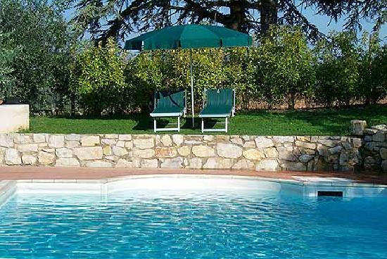 Montefiorile : Tuscan pool