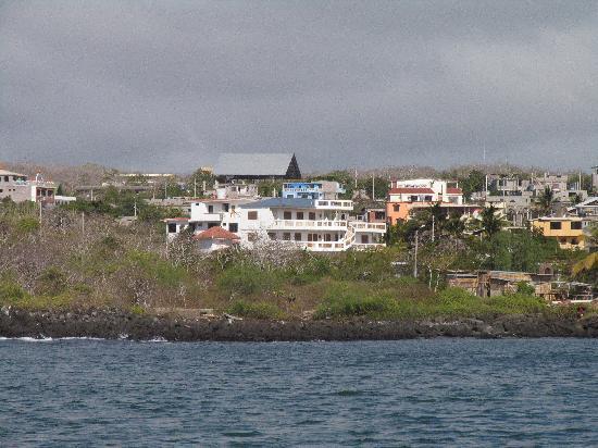 Casa Iguana Mar y Sol: Casa Iguana B&B - white building center