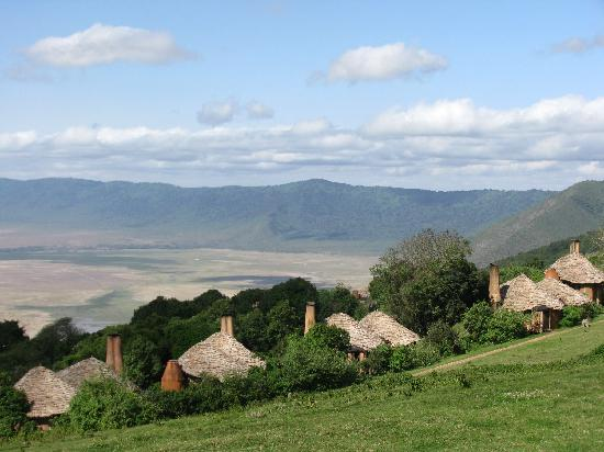 andBeyond Ngorongoro Crater Lodge: Panorama straordinario