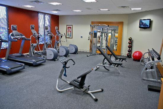Hilton Garden Inn Bartlesville: Oversized Workout Facility