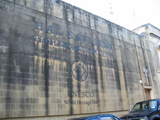 Paola, Malte : Bâtiment abritant l'hypogée