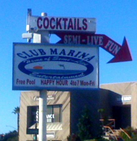 Dolphin Motel: I never found out what semi-live fun is but it is in walking distance and sounds intriguing!