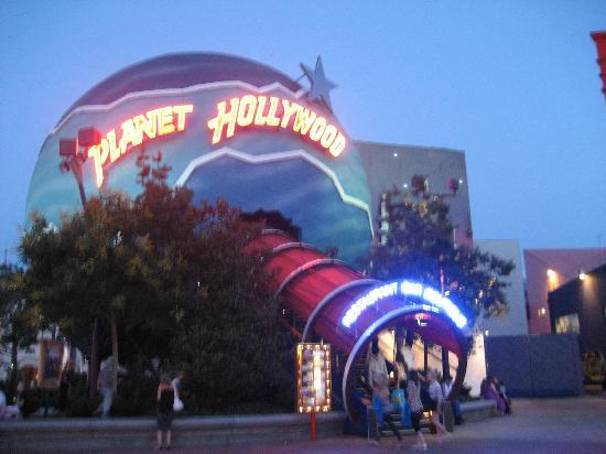Disney Village Planet Hollywood Restaurant