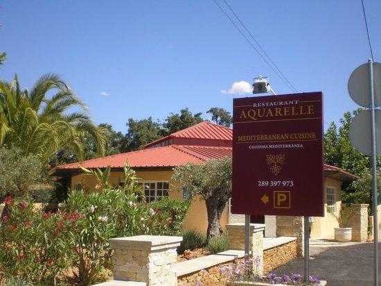 Aquarelle Restaurant: Aquarelle´s Entry