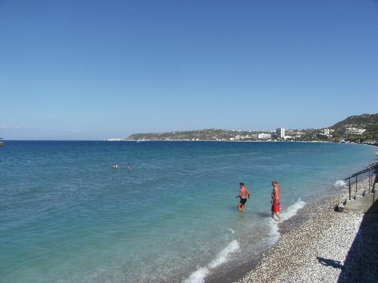 Avra Beach Resort Hotel - Bungalows: la mer