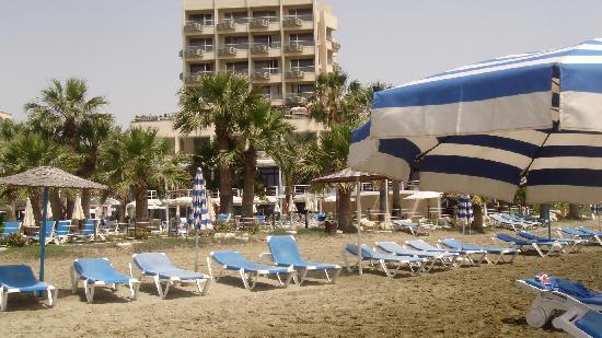 Golden Bay Beach Hotel: Beach view 1