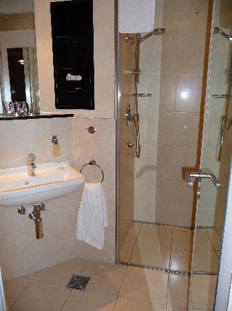 Hotel Am Meer: Badezimmer/WC
