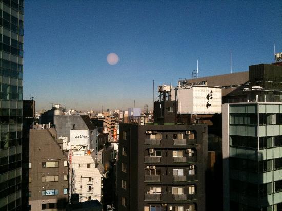 Century Shibuya : View from sink area, top floor