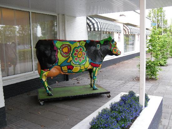 Hotel Waalwijk : entrance
