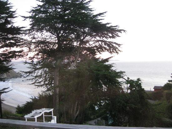 The Cottage at Muir Beach: View from the Terrace