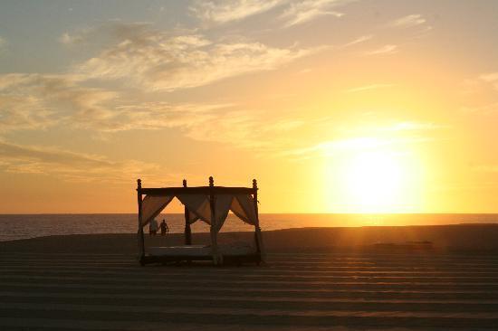Pueblo Bonito Pacifica Golf & Spa Resort: sunset, cabana and beautiful beach