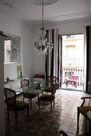 Casa Marcelo Barcelona: The breakfast room