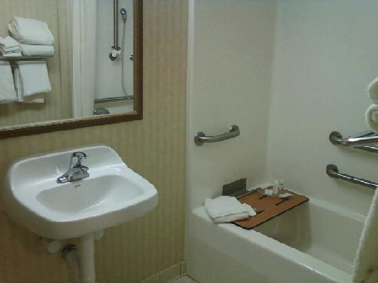 Lakeside Resort and Conference Center: bathroom