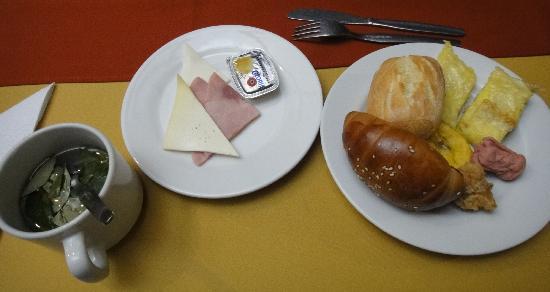 Samay Hotel: 朝食