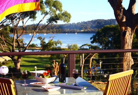 Nubeena Australia  City new picture : Nubeena, Australia: Cafe Deck overlooking Parsons Bay