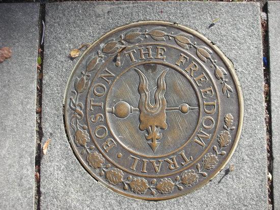 Freedom Trail Run: Freedom Trail Sidewalk Emblem