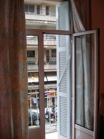 Pension Regil: View of Hotel Londres from Room No. 3