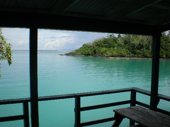Lusia's Lagoon Chalets: Paradise