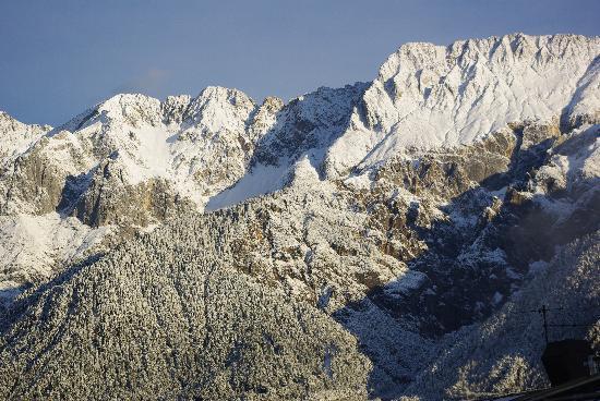 Mieming, Austria: vue de ma chambre