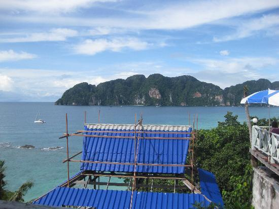 Phi Phi Hill Resort: view from the restaurant